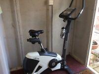 Reebok exercise bike. Hardly used.