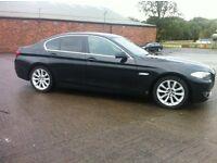 BMW 5 SERIES 520 SE DIESEL. 2010 LOW MILES FACTORY BLACK