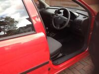 Vauxhall Corsa 1.2 litre engine, Low Mileage with Full Service History, 7 months MOT