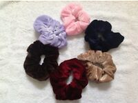 Large Hair scrunchies 6 for £2.00