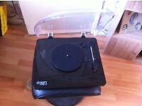 ion record player /usb