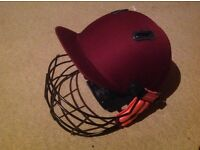 Cricket helmet Gray Nicholls good condition, youth size