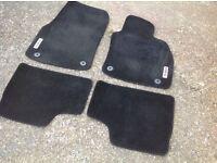 Vauxhall astra SRI car mats in black, mk5, coupe hatch estate van
