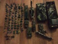 Toy army set