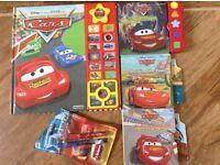 Disney Cars Lightning McQueen interactive books & pen set