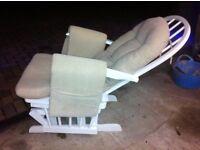 Reclining,rocking, nursing/ relaxing /armchair
