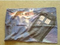 Doctor Who single quilt cover/pillowcase