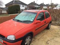 CORSA 1.2 breeze. Mot October. Only 66000 miles drives great