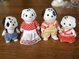 Dalmatian sylvanian family
