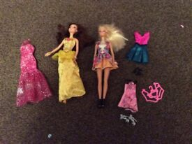 Barbie doll and Disney's bell
