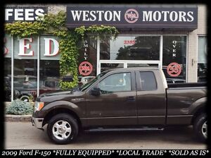 2009 Ford F-150 XL* LOCAL TRADE* SOLD AS IS!!
