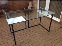 Habitat Glass Desk