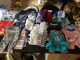 Moses basket bundle and cloths bundles