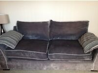 Grey Three-Seater Sofa for sale excellent condition