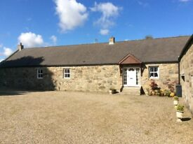 4/5 Bedroom converted Steading for rent **Available end May / Begg June** £1350 pm