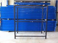 3 TIER INDUSTRIAL WAREHOUSE GARAGE SHED SHOP SINGLE BAY RACKING SHELVING UNIT