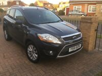 Ford Kuga Titanium, 2010, Bluetooth, Part Leather, MOT, Service History