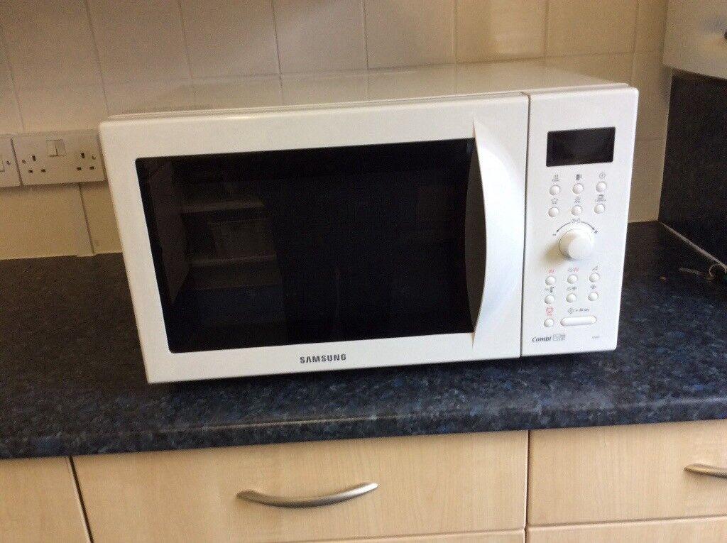 Virtually New Samsung Combi Microwave Oven