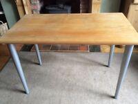 Desk/table solid sycamore