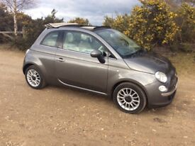 Fiat 500 cabriolet, free congestion charge & road tax, automatic, low miles, excellent condition