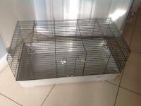 Indoor pet cage.