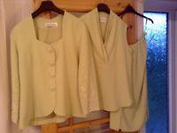 Ladies three piece suit. Size 18.