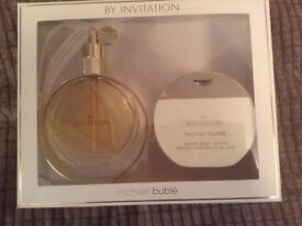 By Invitation by Michael Buble EDP Gift Set