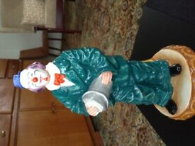 Royal Doulton Classic Clown figureine 'Will he - won't he?'