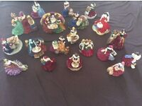 Royal Worcester full set fruit seller dolls all19 not Roma hobby fendt tabbert caravan chalet static