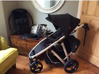 Phil and teds verse v2 double buggy stunning £300