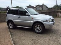 Nissan terrano se Td for sale just past mot today