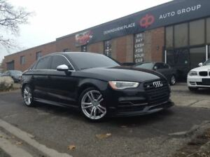 2015 Audi S3 2.0T Technik ONE OF A KIND | TWO TONED INTERIOR |
