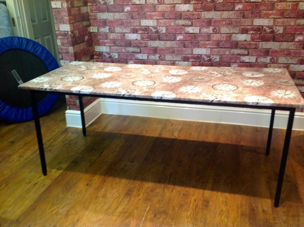 TABLE - 70 X 30 INCHES - (3 AVAILABLE) - DISMANTLED - CAN DELIVER