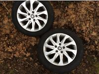 "Seat Leon 16"" alloy wheels . Two available. £80 for the pair."