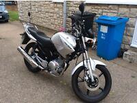 Yamaha motorbike YBR125