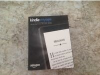 Amazon Kindle Voyage 4GB WiFi BRAND NEW & SEALED! RRP £169.99. Duplicate Gift.