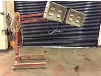 Vehicle body shop panel heater/dryer £40