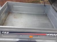 ERDE 122 box trailer
