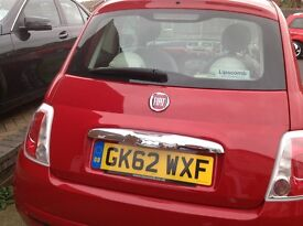 FIAT 500 - RED - 62 REG - PRICED TO SELL