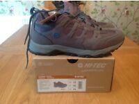 Men's Hi-Tec Quadra Trail Walking Trainer Grey Size 11 Brand New Boxed.