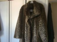 Wallis vintage fur coat