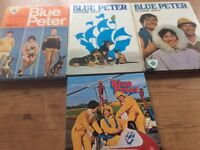 Collectable Blue Peter annuals 1960's