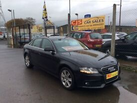 Audi A4 2.7 tdi diesel automatic 2008 one owner fsh long mot mint car fully serviced ful leather px