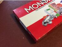 Monopoly Game. Good Condition. Complete apart from instructions. 2 broken corners on box.