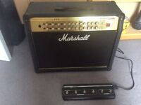 Marshall Valvestate 2000 AVT 275 Guitar Amplifier & Original Multifunction Foot Switch