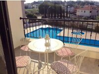 2 bedroom apartment with pool in Pissouri, Cyprus