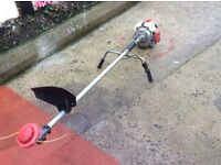 Mitsubishi T200 petrol long reach garden strimmer. Model F -5 MTI engine. Great condition