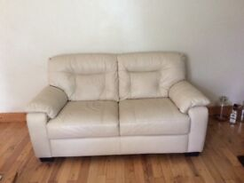 REAL LEATHER 2&3 SEATER SOFAS