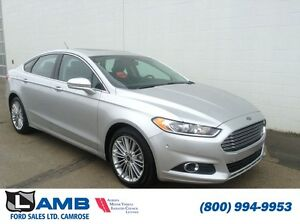 2016 Ford Fusion Sdn SE 202A AWD 2.0L Ecoboost Leather Moonroof