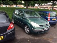 For Spares and Repairs Renault Scenic